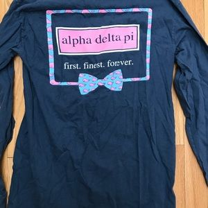 Alpha delta pi vineyard vines long sleeve
